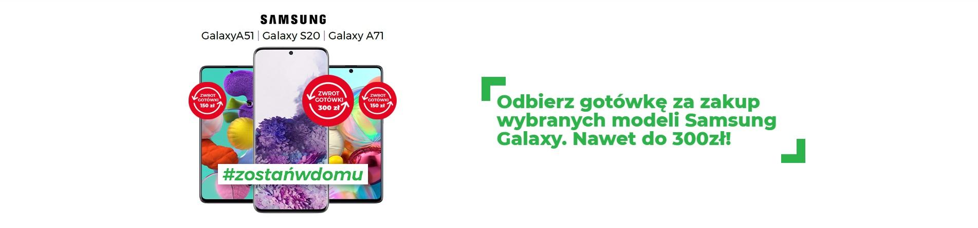 Promocja: kup wybranego Samsunga w Plusie, a dostaniesz nawet 300 zł z powrotem do ręki