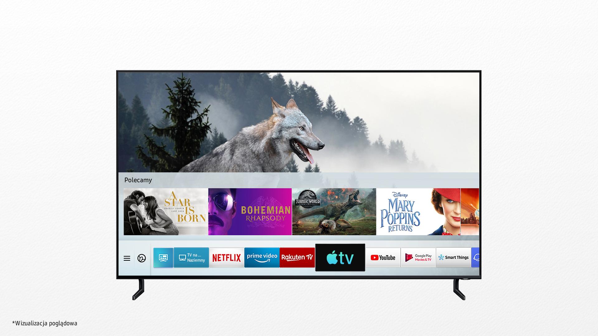Słuchaj muzyki z telewizora: Apple Music od dziś dostępne w Samsung Smart TV