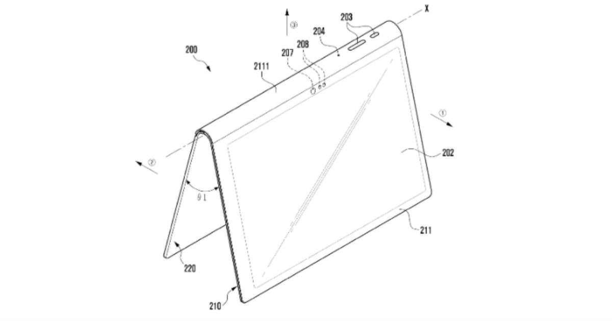 samsung tablet patent