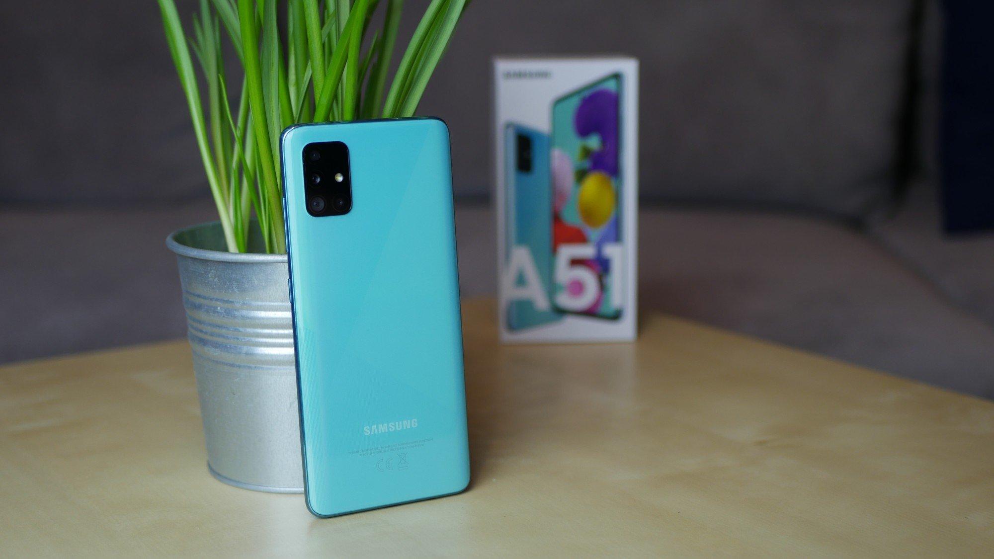 Samsung Galaxy A51 - recenzja zjawiskowo wyglądającego smartfona w zbyt wysokiej cenie 22