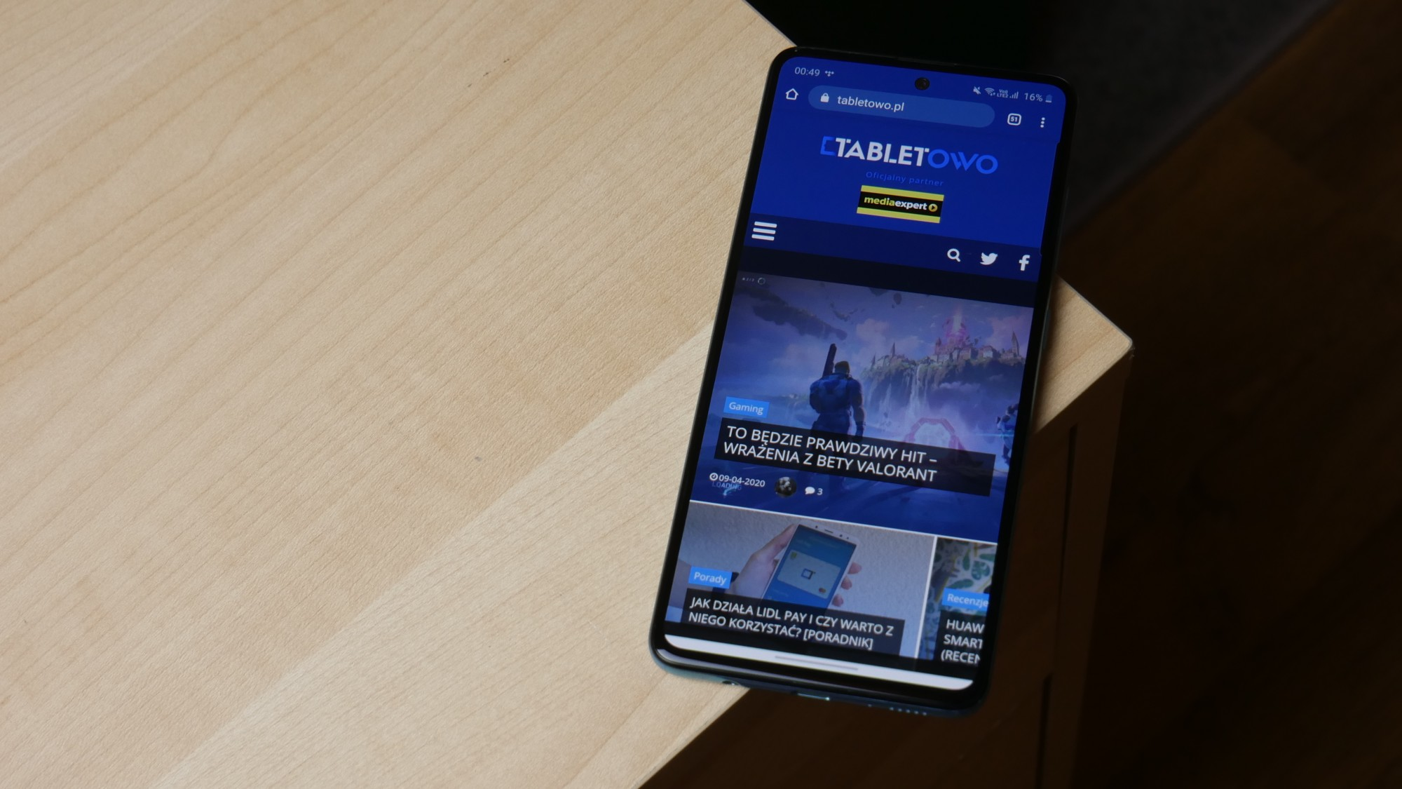 Samsung Galaxy A51 / fot. Kacper Żarski
