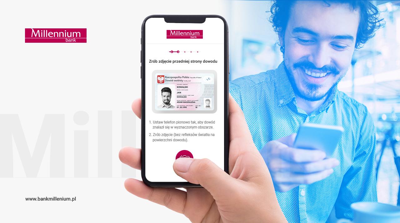 Bank Millennium umożliwia otwarcie konta za pomocą selfie 20