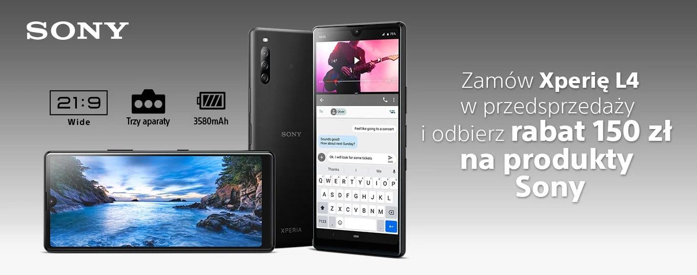 Sony Xperia L4 już do kupienia w Polsce. Cena nie zachęca, choć jest ciekawa promocja 17