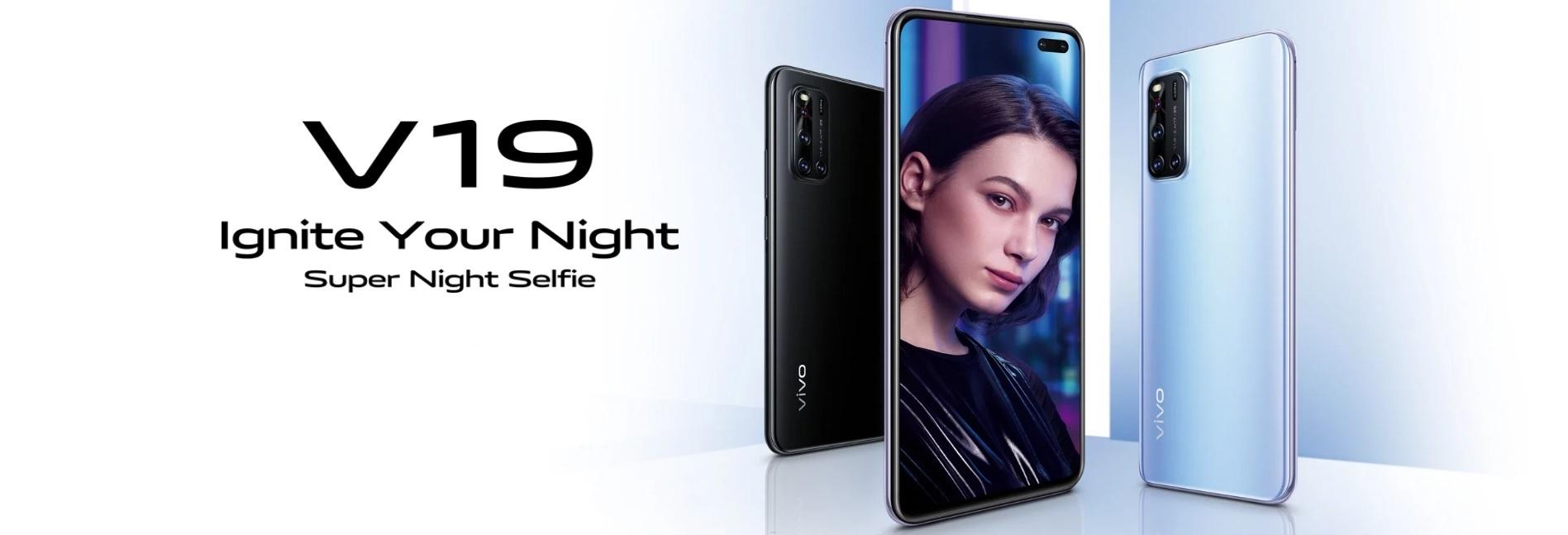 Nowego Vivo V19 na pierwszy rzut oka można pomylić z Huawei P40 25