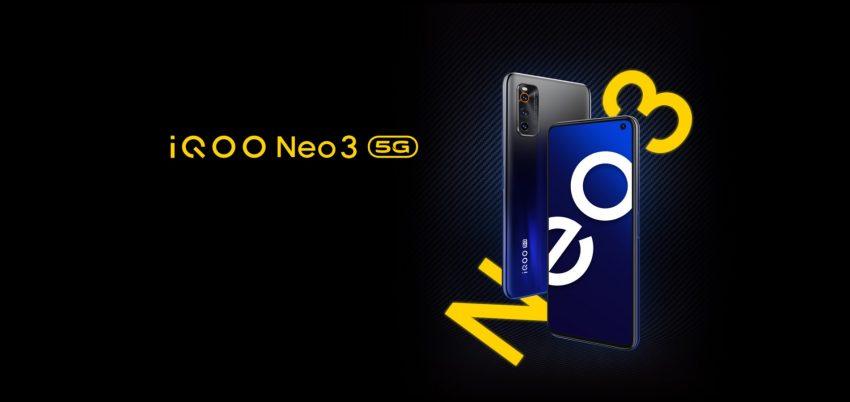 Vivo iQOO Neo 3 5G smartphone