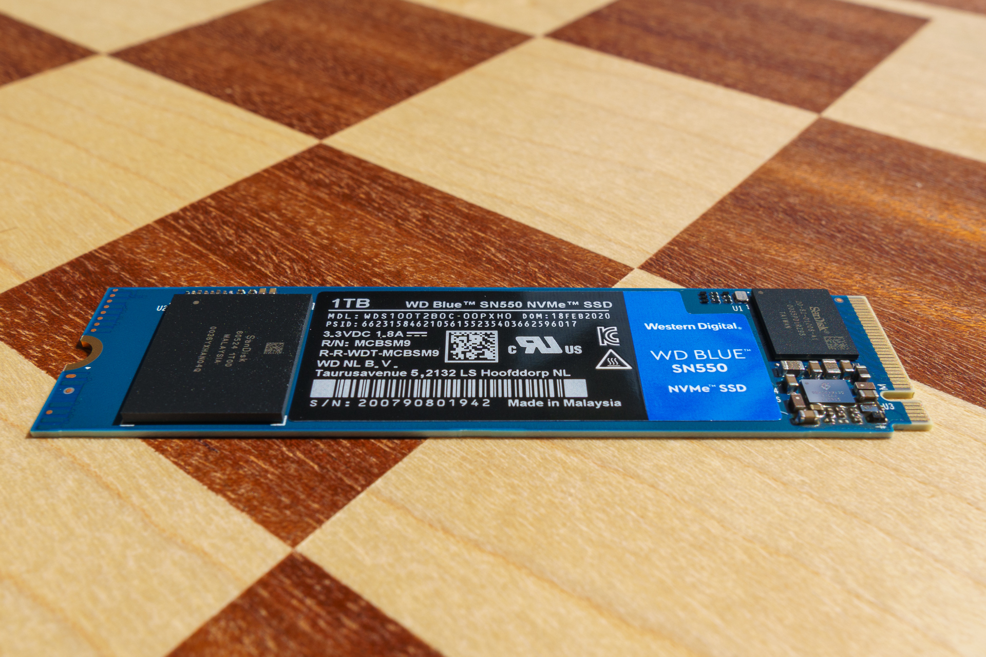Dysk SSD Western Digital Blue SN550 - solidny średniak 20