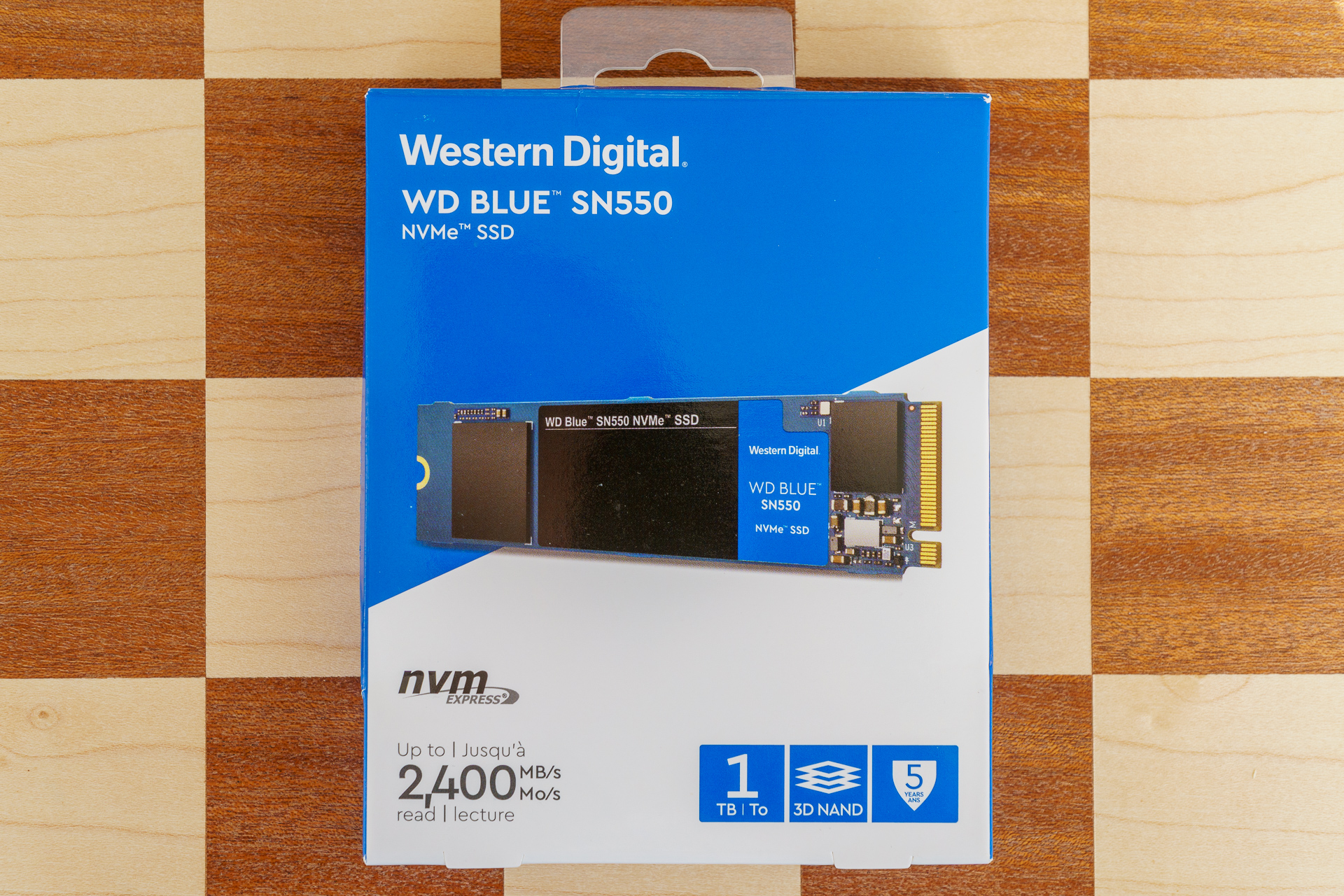 Dysk SSD Western Digital Blue SN550 - solidny średniak 19