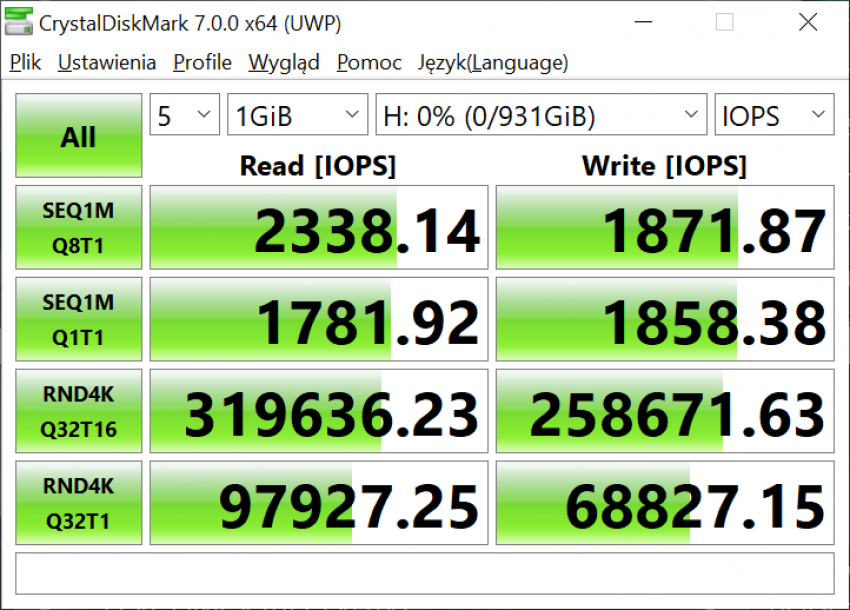 Dysk SSD Western Digital Blue SN550 - solidny średniak 24