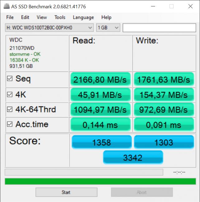 Dysk SSD Western Digital Blue SN550 - solidny średniak 41