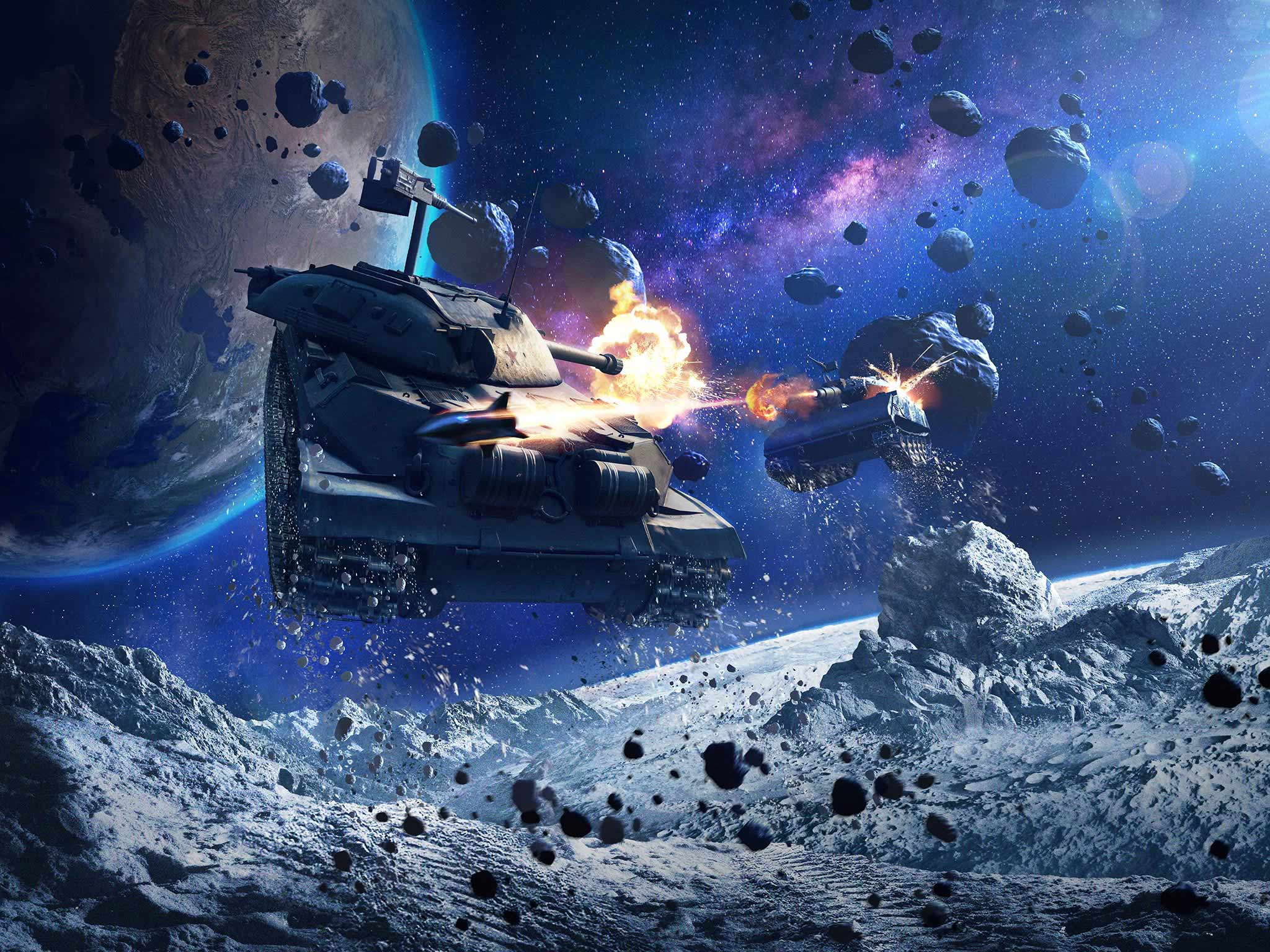 Tryb Gravity Force w World of Tanks Blitz - wygraj działkę na Księżycu 24