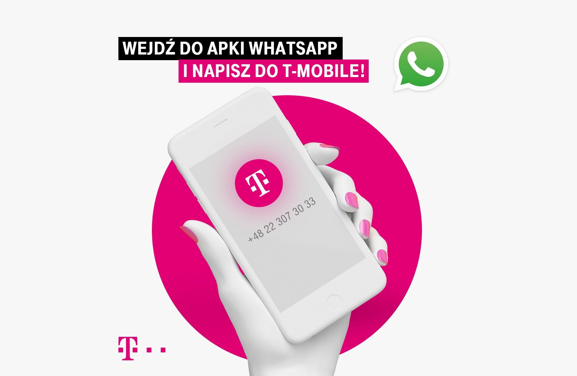 T-Mobile jako pierwszy operator obsłuży klientów przez WhatsApp 17