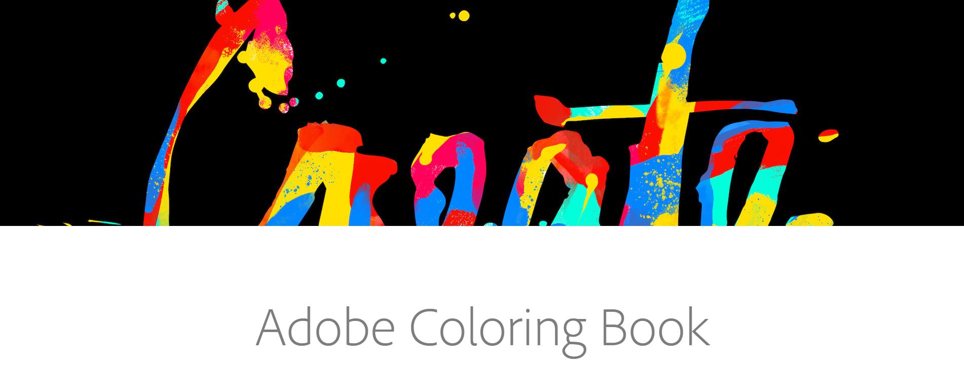 Darmowe kolorowanki dla dorosłych od Adobe