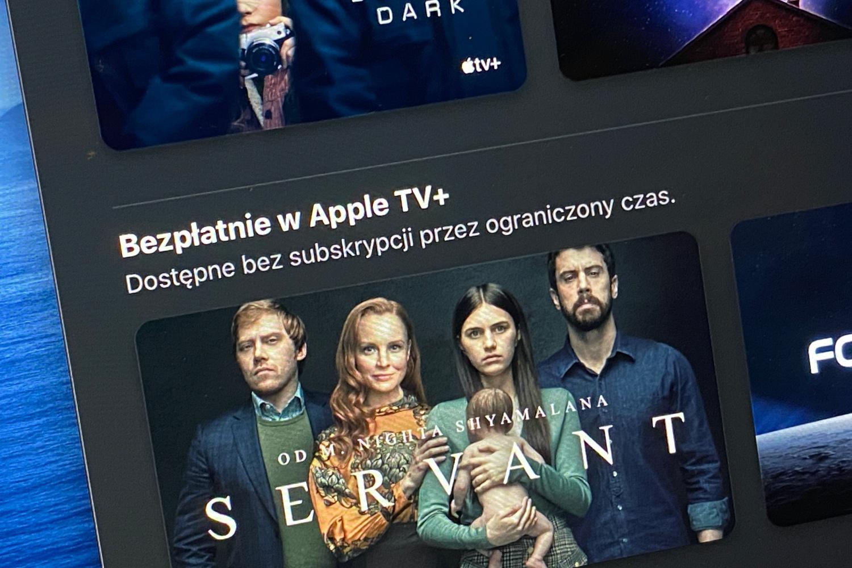 Apple TV+ - wybrane produkcje dostępne za darmo