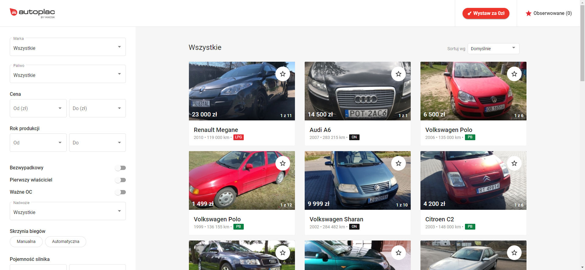 Nowości w Yanosik Autoplac: przede wszystkim asystent robienia zdjęć 18