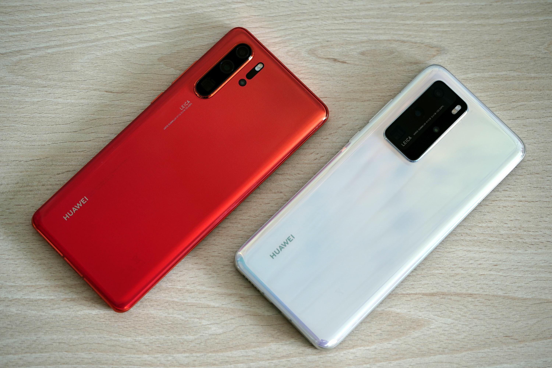 Huawei P30 Pro Huawei P40 Pro
