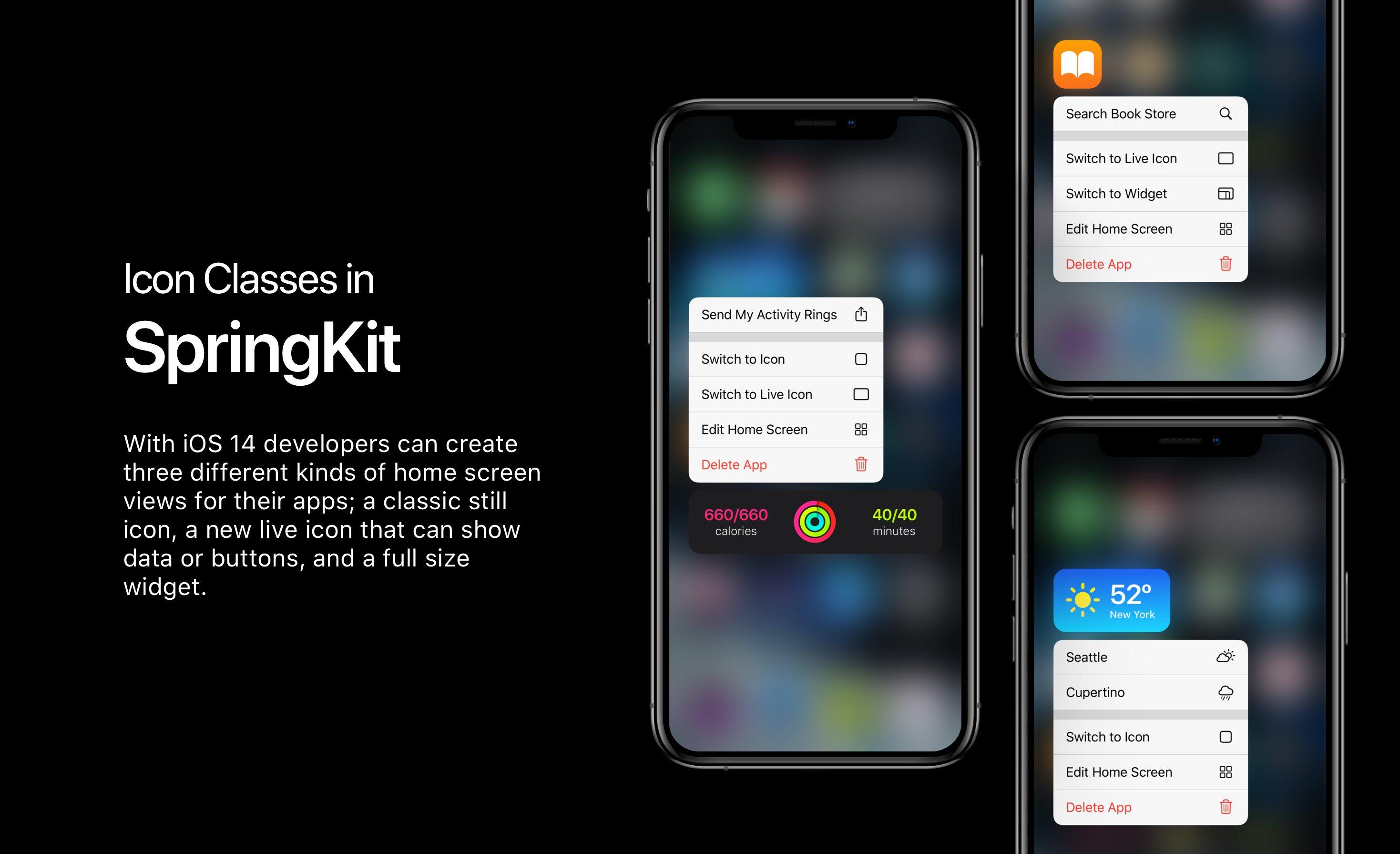 Ciekawy koncept iOS 14. Widżety trafiły na ekran główny