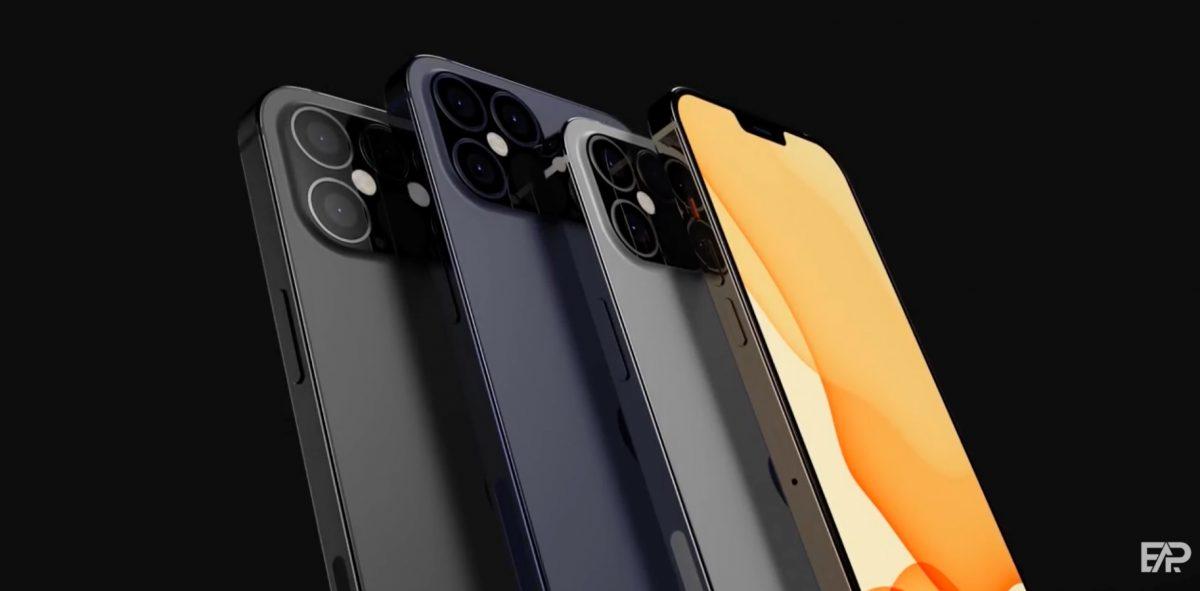 iPhone'y 12 jednak z ogromnym notchem i skanerem LiDAR tylko w Pro Max