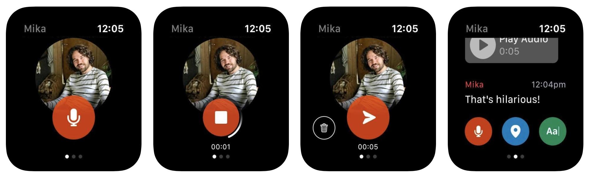 Facebook udostępnia zupełnie nowy komunikator na Apple Watcha 21
