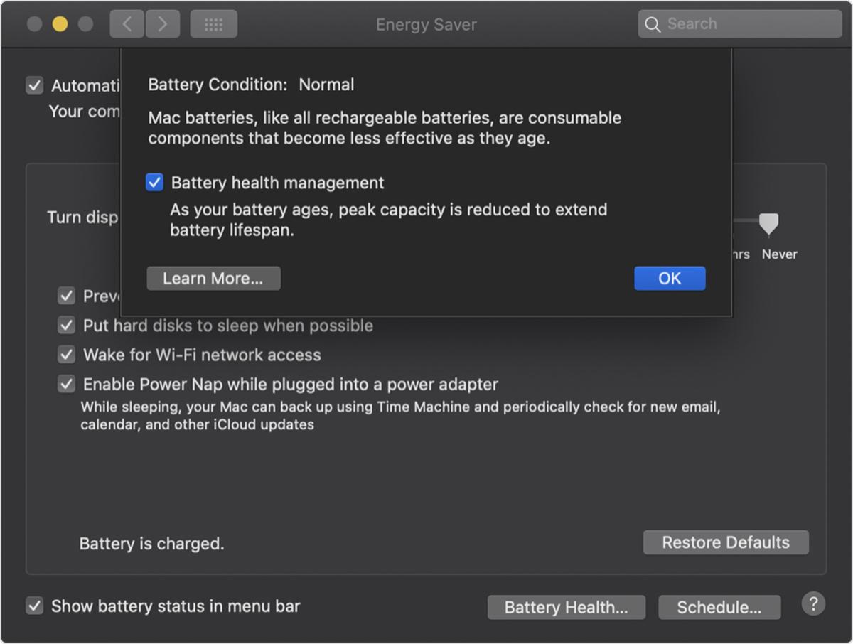 MacBooki będą krócej pracować na baterii, ale ona za to podziękuje