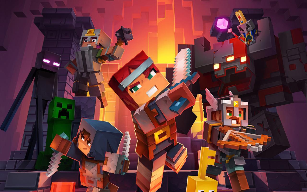 Minecraft Dungeons sprzedaje się jak ciepłe bułeczki - lepiej niż Animal Crossing! 19