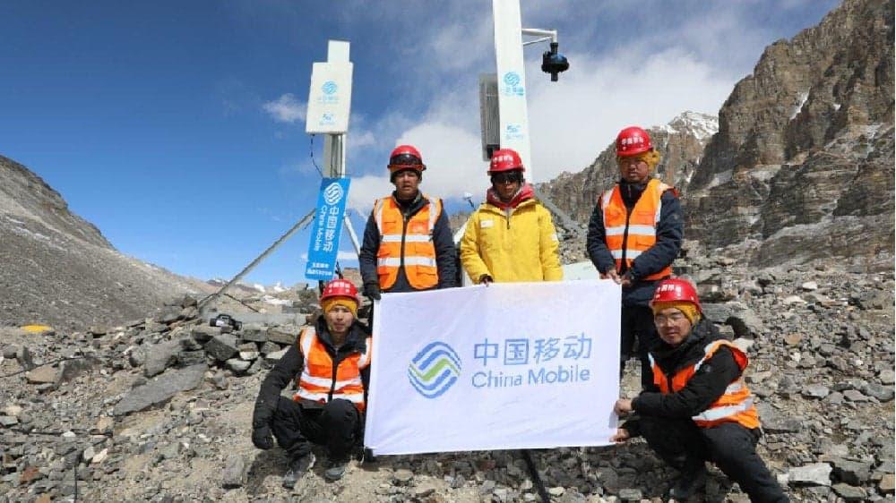 Nawet na Mount Evereście mają już 5G. China Mobile zamontowało anteny na wysokości 5800 m