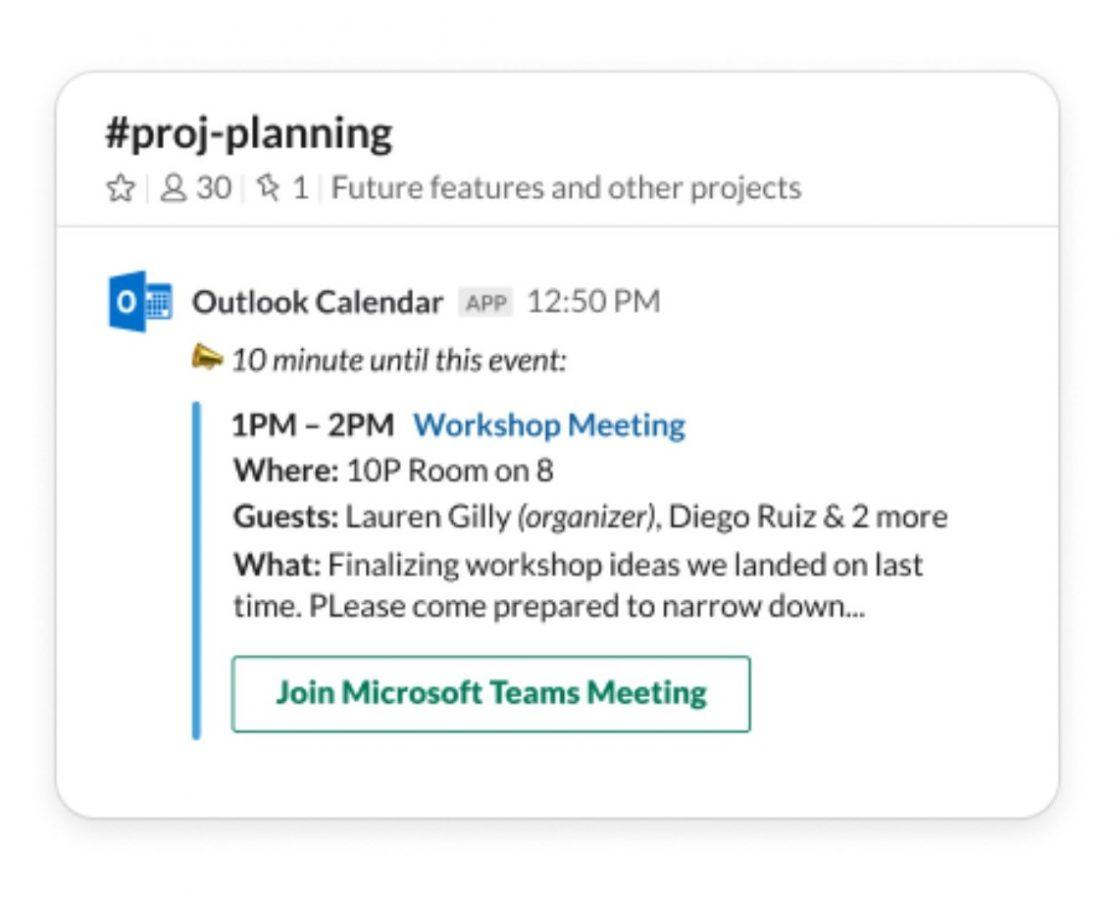 Teraz możesz utworzyć połączenie Microsoft Teams bezpośrednio w Slacku 22