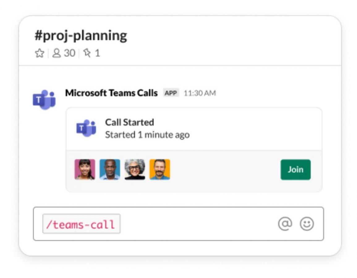 Teraz możesz utworzyć połączenie Microsoft Teams bezpośrednio w Slacku 21