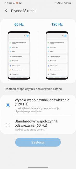 Samsung Galaxy S20+ to poważny kandydat do miana najlepszego flagowca (recenzja) 22