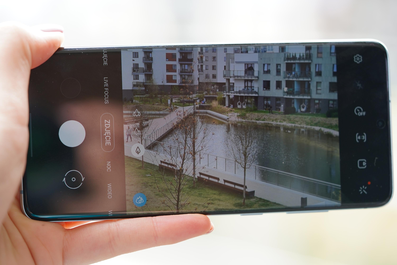 aparat Samsunga Galaxy S20 Plus