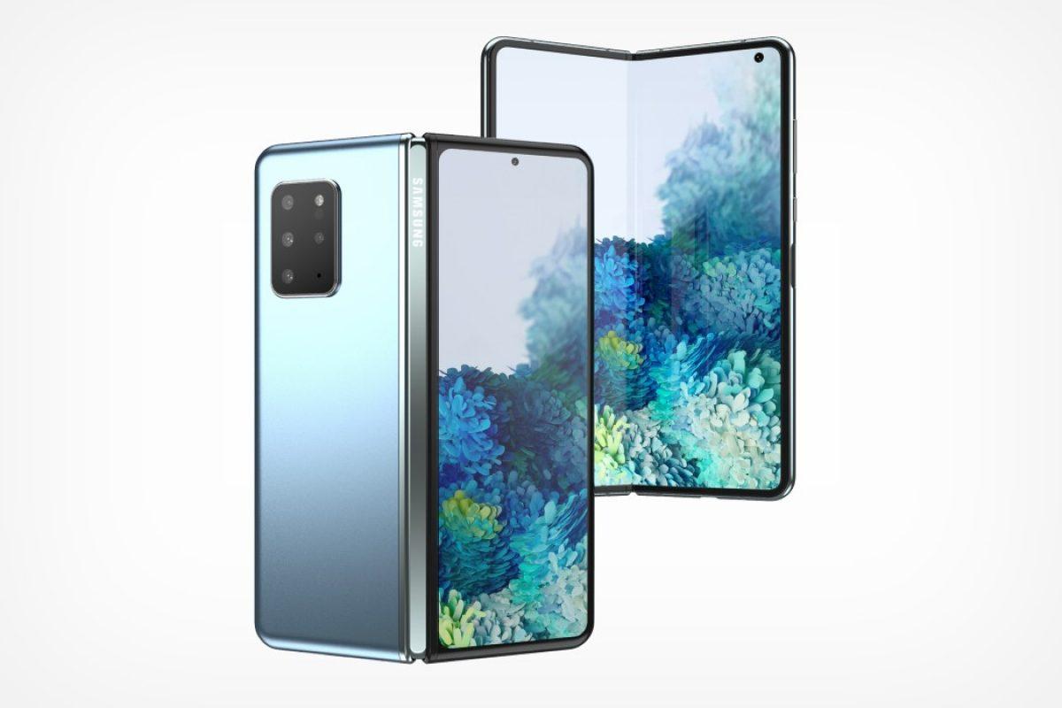 Proszę, nie. Lepiej, żeby Samsung nie skorzystał z tego pomysłu na Galaxy Fold 2 20 Galaxy Fold