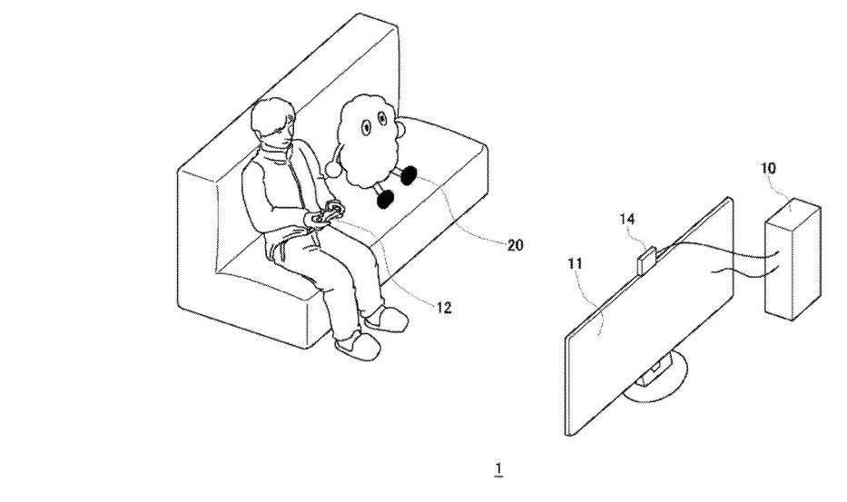 Robot dla graczy Sony