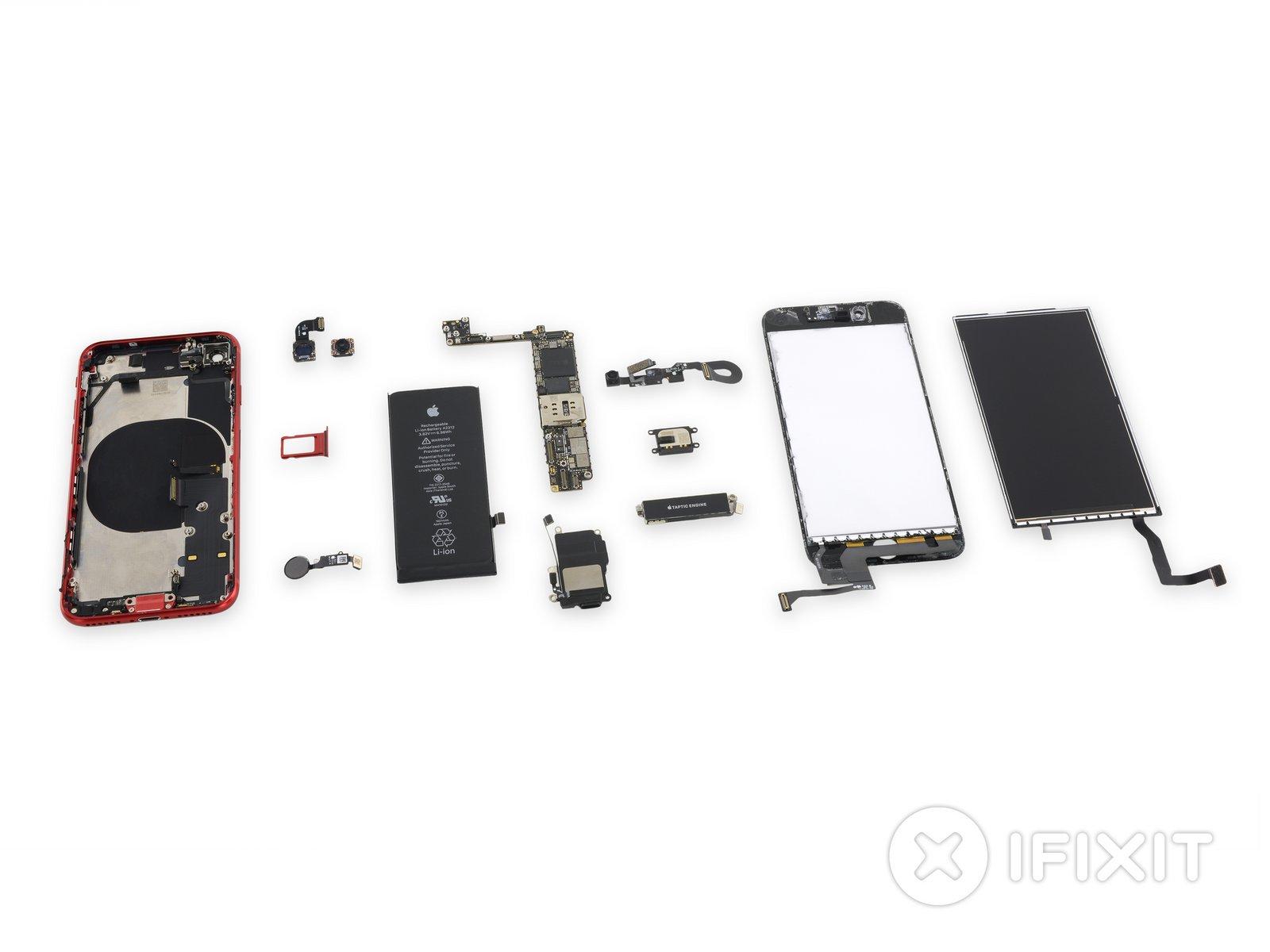 iPhone SE 2020 oraz iPhone 8 mają wiele wspólnego - porównanie użytych części 22
