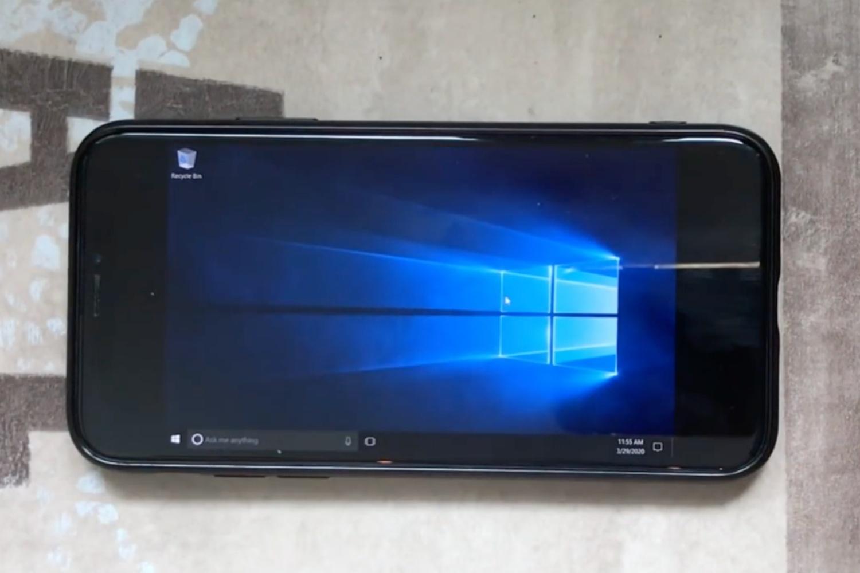 Windows 10 na iPhonie X? To możliwe dzięki maszynie wirtualnej 20