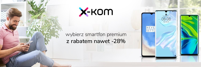 """Promocja na smartfony klasy premium w x-kom. Jest też coś dla tych, którzy lubią """"podkręcać"""""""