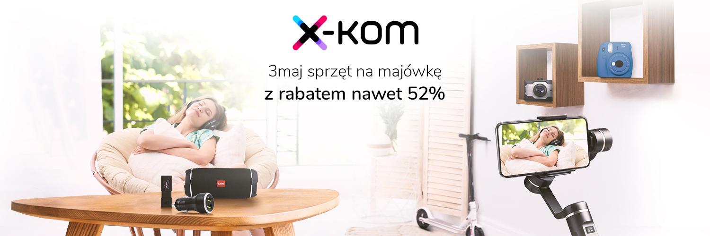 Zrób wiosenne porządki i przygotuj się do majówki korzystając z nowych promocji sklepu x-kom 17