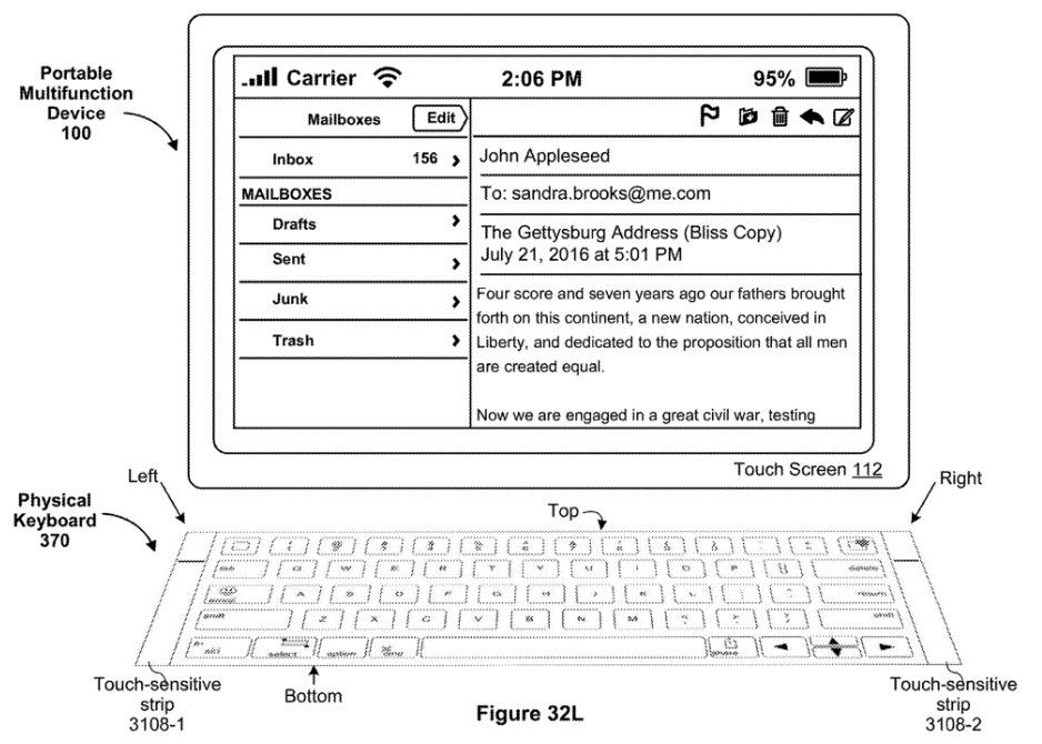 Apple ma pomysł na lepsze klawiatury do iPadów. Pojawią się dotykowe paski