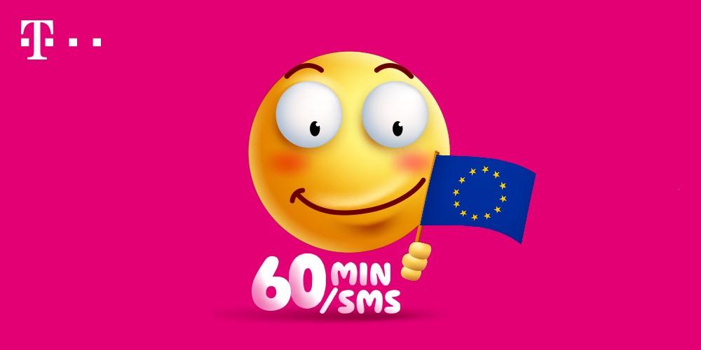 T-Mobile daje klientom wybór: 60 darmowych minut lub SMS-ów w UE