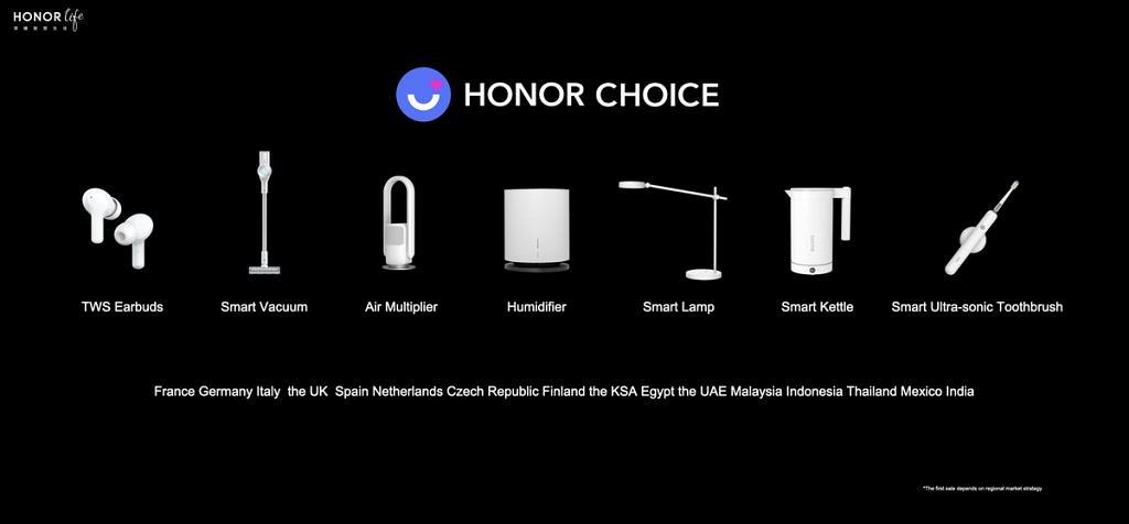 Honor uzupełnia ofertę produktów o telewizor, słuchawki TWS i parę innych gadżetów