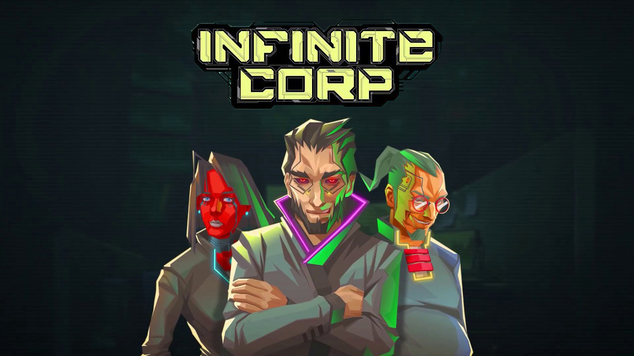 InfiniteCorp - recenzja cyberpunkowej gry karcianej prosto z Polski