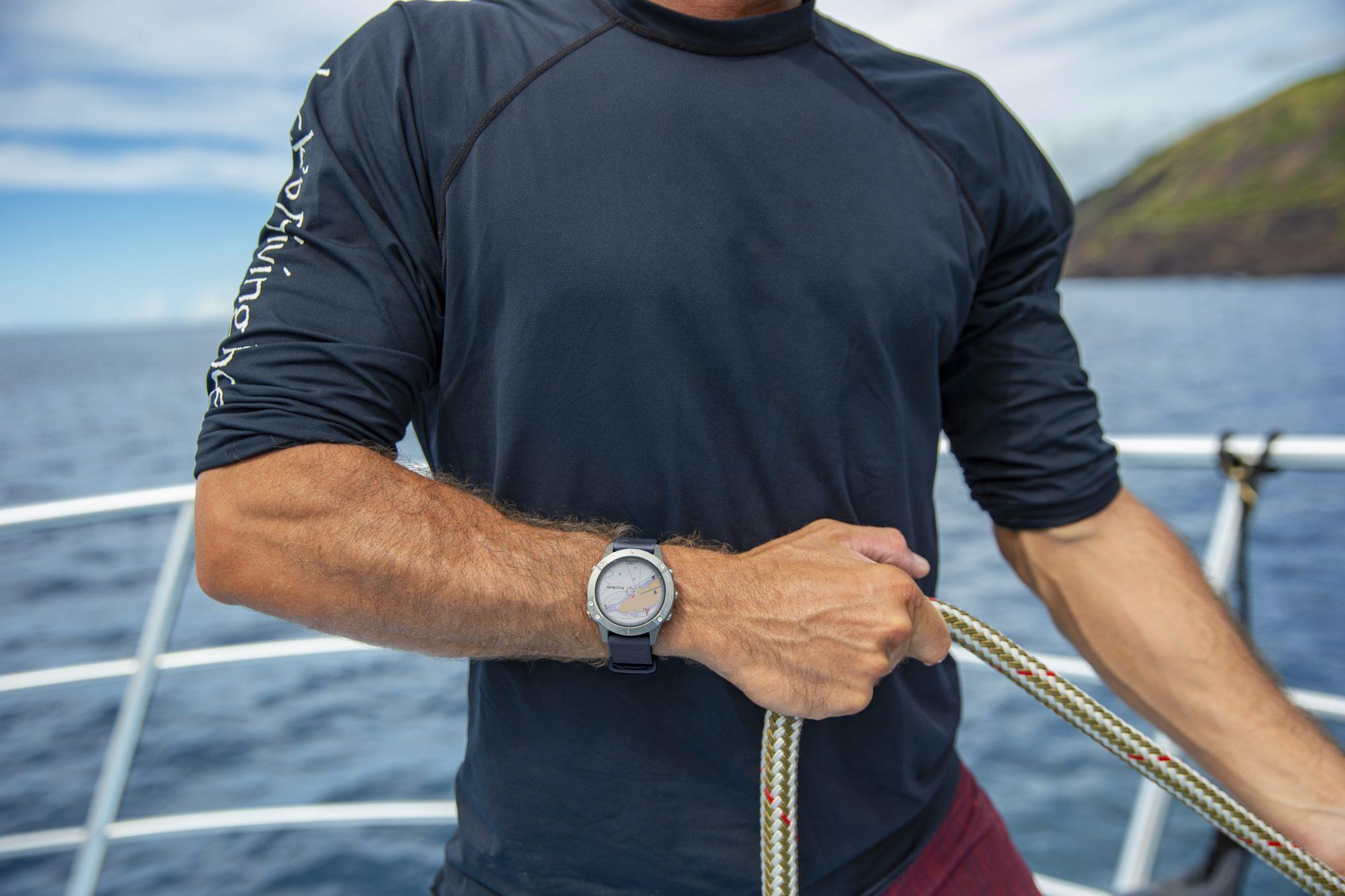 Jeśli stać Cię na jacht, to stać Cię także na niego - oto zegarek Garmin quatix 6X Solar
