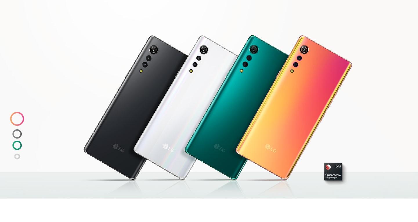 LG Velvet smartphone
