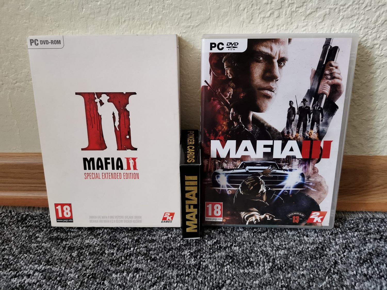 Mafia II Mafia III Mafia Poker Cards