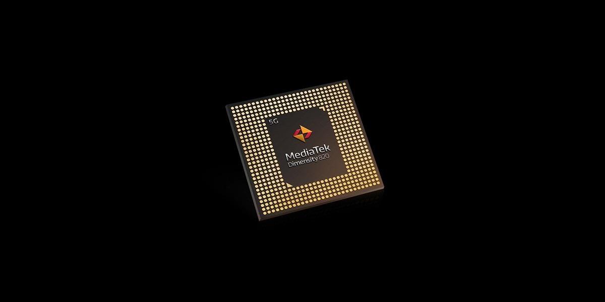 procesor MediaTek Dimensity 820 processor