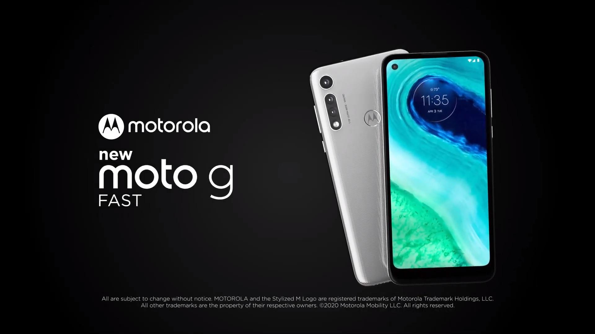 Motorola Moto G Fast smartphone