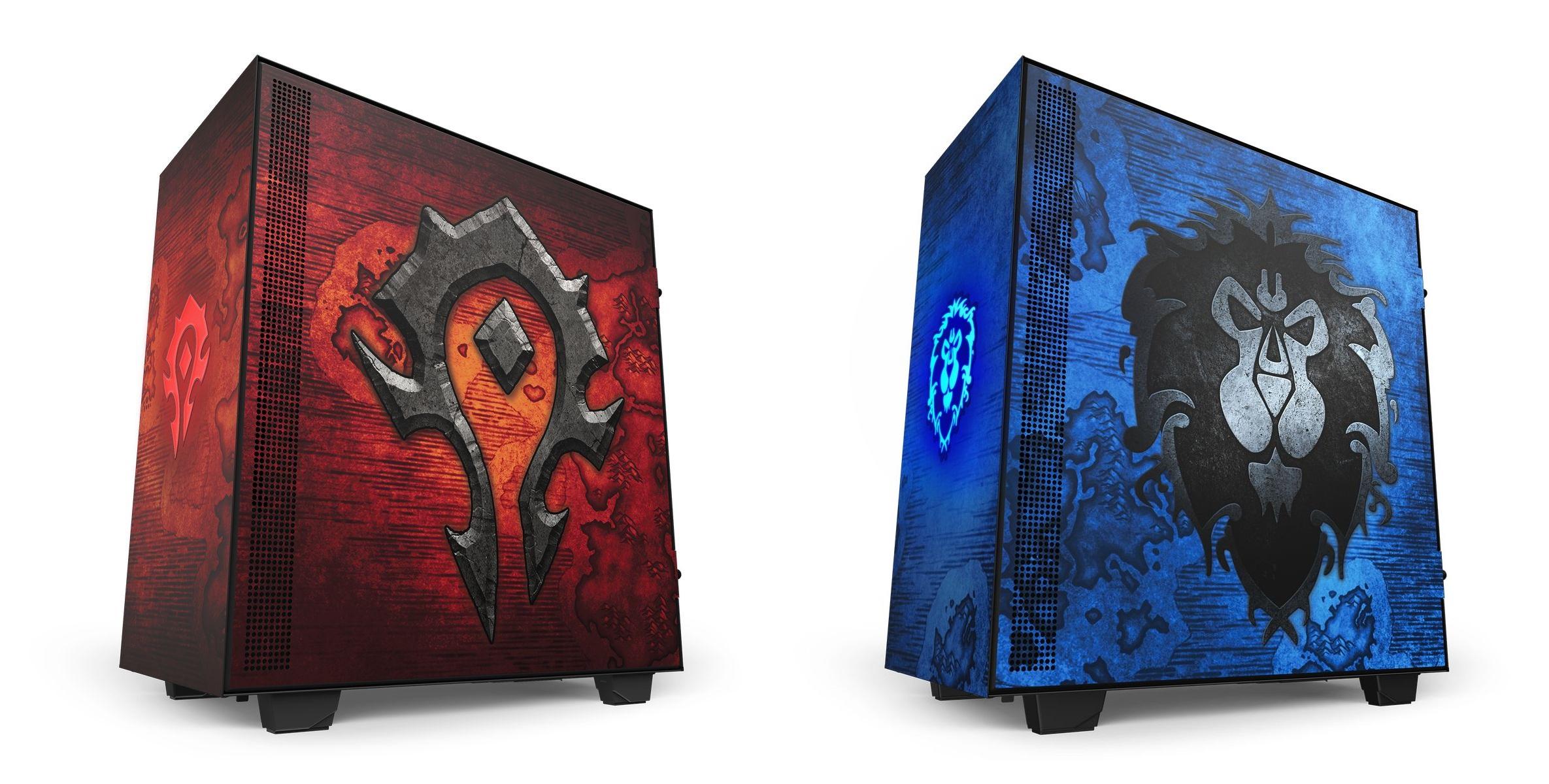 Prawdziwa gratka dla fanów World of Warcraft - do sprzedaży trafiły obudowy NZXT H510 w barwach Alliance oraz Hordy 28