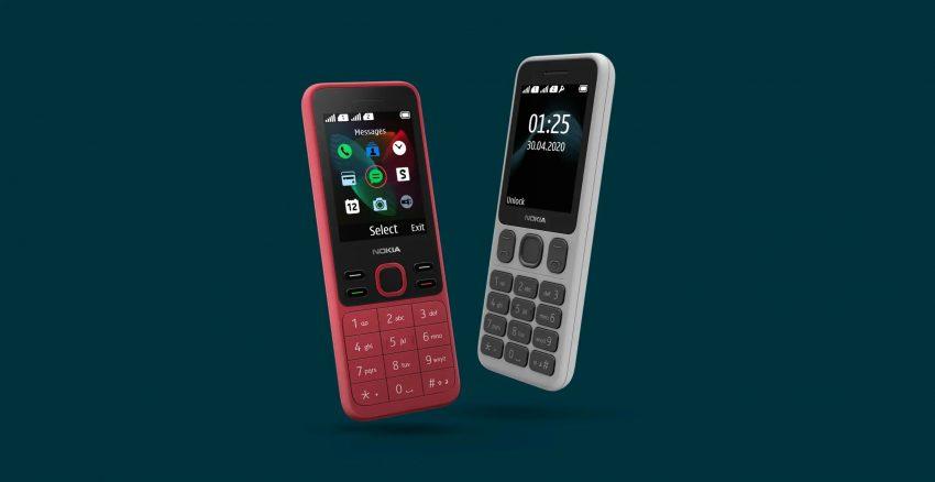 Nokia 125 new Nokia 150 2020