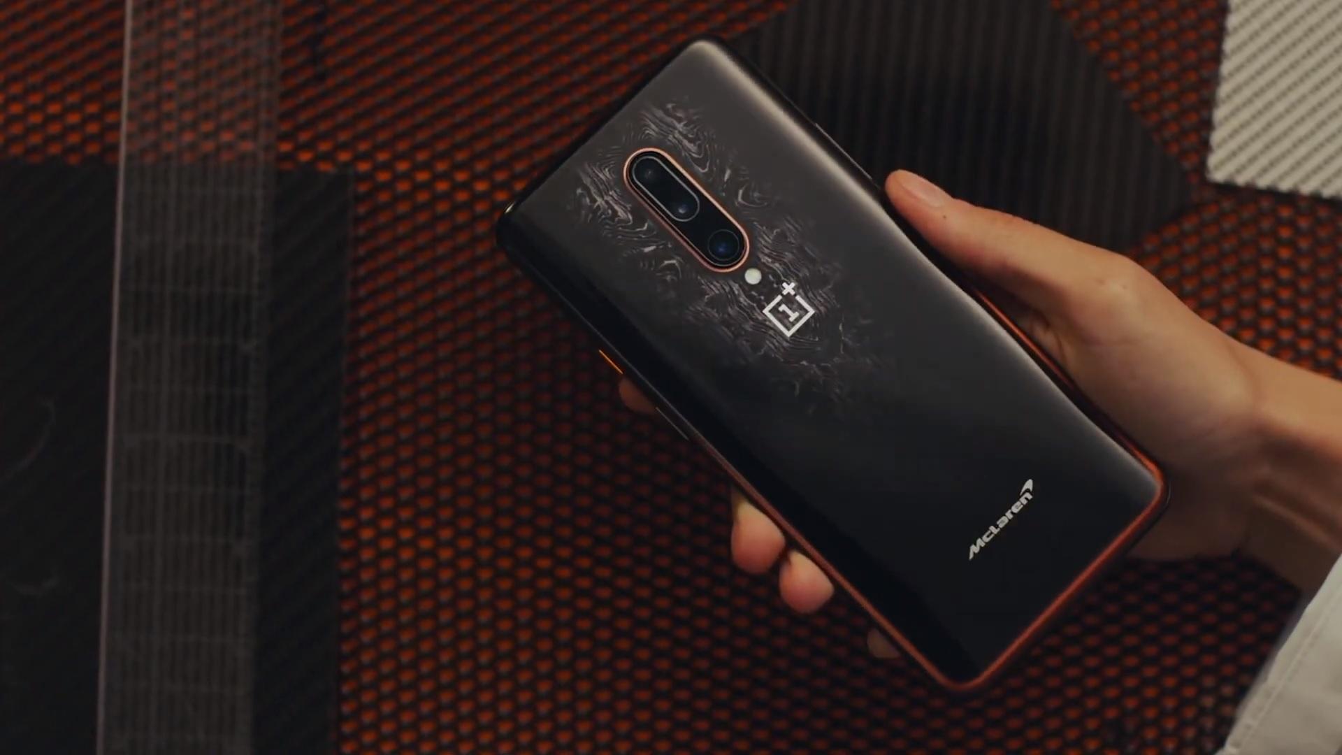 OnePlus 7T McLaren Edition smartphone