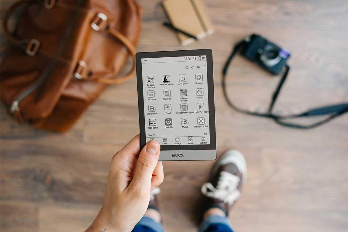 Kieszonkowy czytnik e-booków z ekranem 6 cali i małymi ramkami? Fajna sprawa
