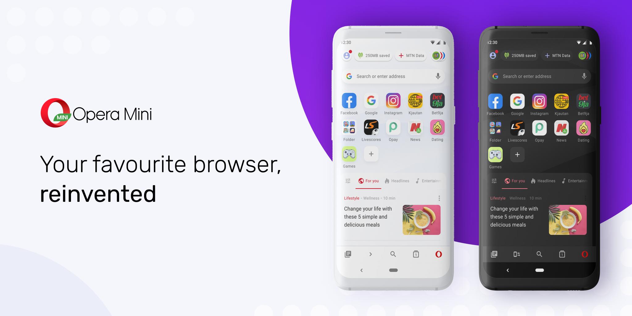Opera Mini dostaje największą od 5 lat aktualizację aplikacji 22