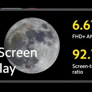 POCO F2 Pro screen display